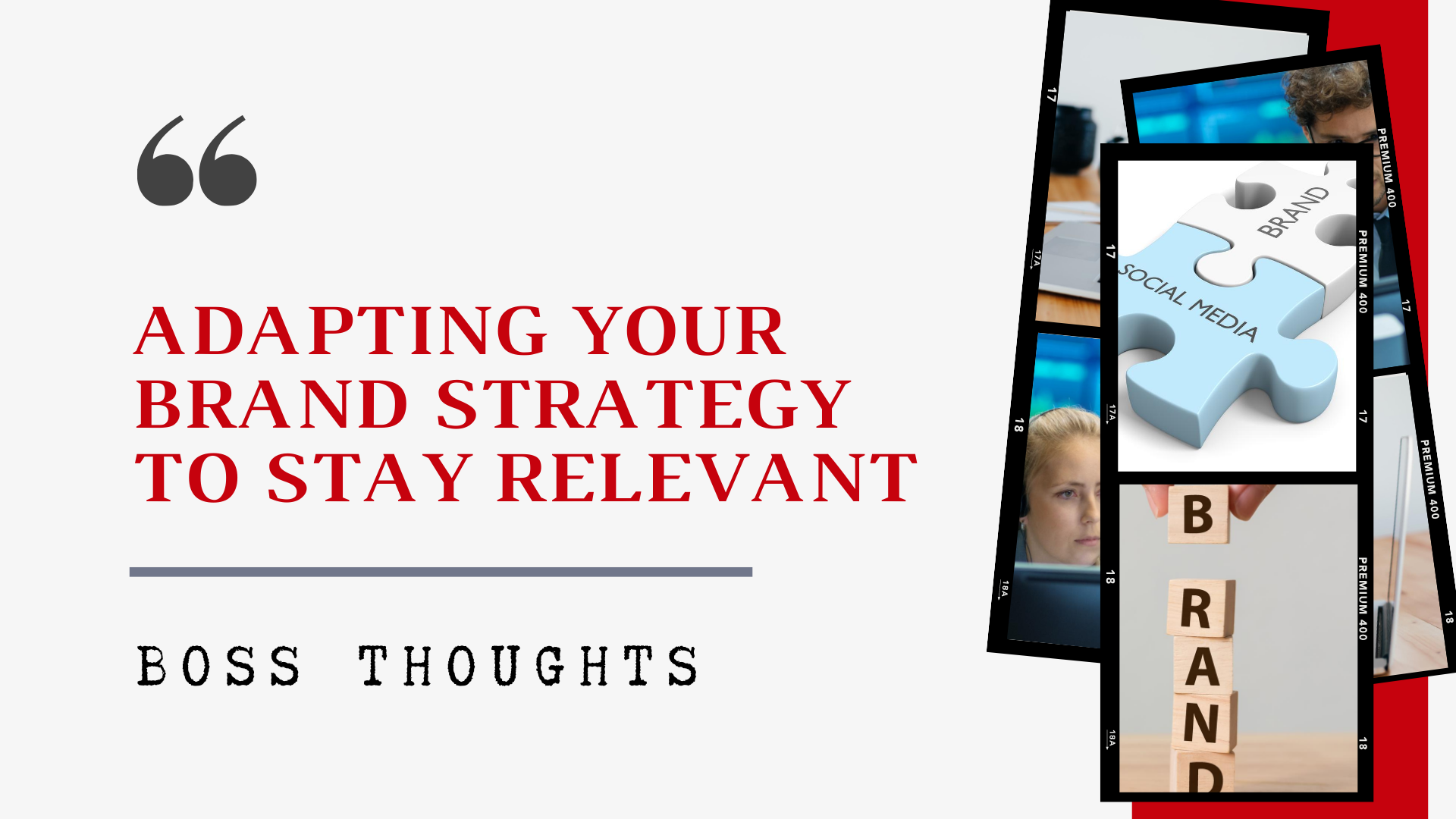 Adapting Your Brand Strategy to Stay Relevant