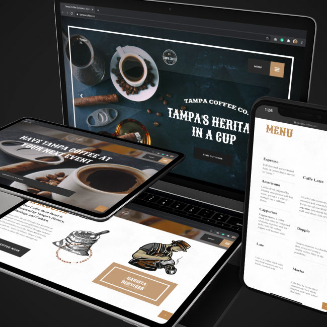 Tampa Coffee portfolio