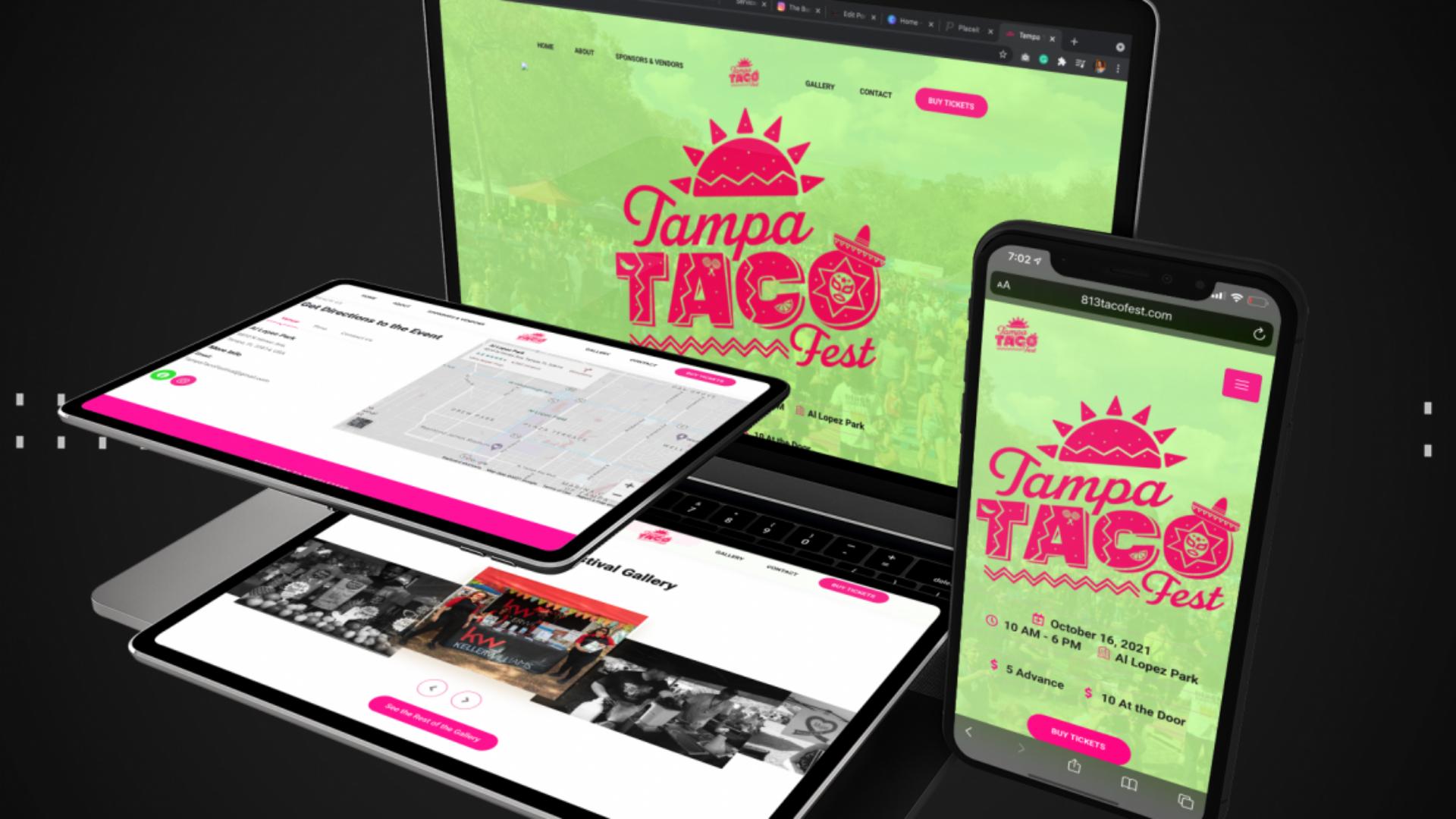 Taco Fest portfolio