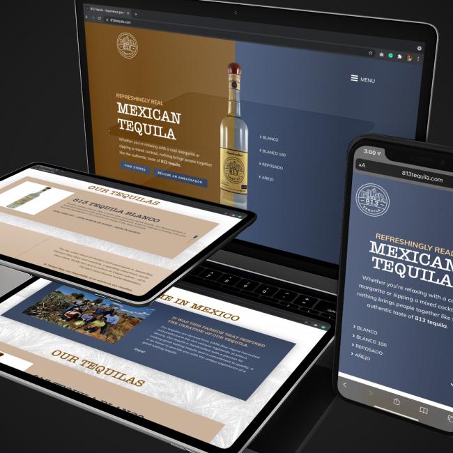 813 Tequila portfolio